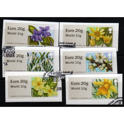 FS15-97 Euro 20 / World 10 NCR Spring Blooms used
