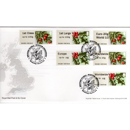 FS18n Winter Greenery Wincor-Nixdorf set FDC