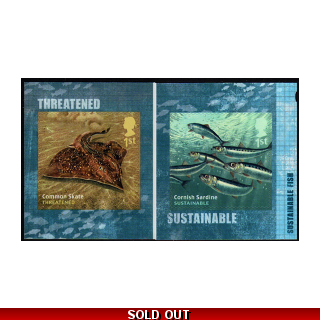 3632-3 Sustainable fish self-adhesive ..