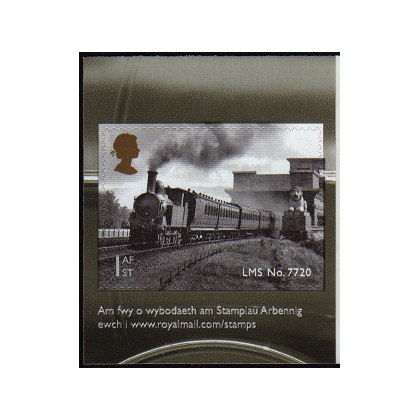 3634 Welsh Locomotive self-adhesive from retail booklet