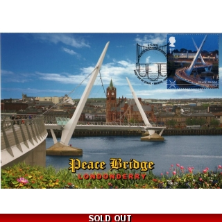 3696mxd Peace Bridge Londonderry Maxim..