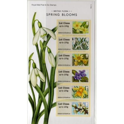 FS15b Spring Blooms Bureau pack - original and reprint
