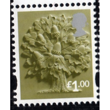EN35 £1.00 England  2015 - cylinder & date blocks available