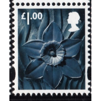 W127 £1.00 Wales 2015 - cylinder & date blocks available