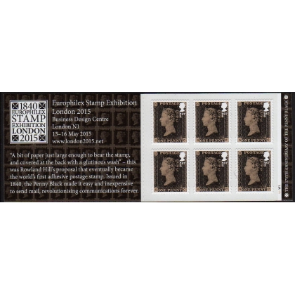 MB13 Penny Black anniversary self-adhesive booklet