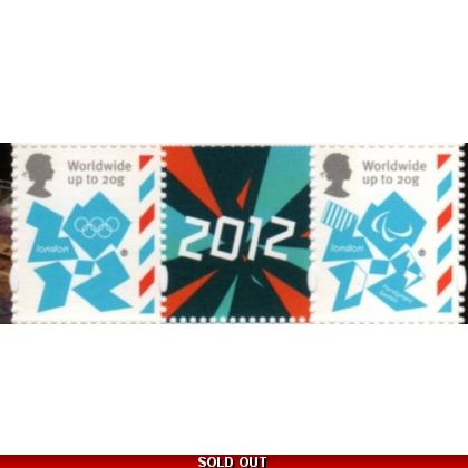 3337-40 Olympic Definitive Gummed set of 4 from PSB