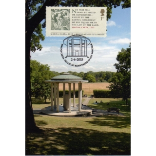 3719x1 Magna Carta Memorial Maximum Card