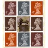 4005P.5a Set of 4 Machin Definitives f..