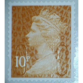 3010.5 10p orange M15L MAIL 2015 issue