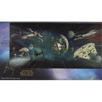 3770 Star Wars FDC - Miniature Sheet stamps from PSB