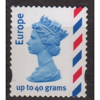2358 Europe 40g Airmail stamp, several..