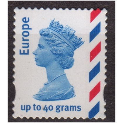 2358 Europe 40g Airmail stamp, several types