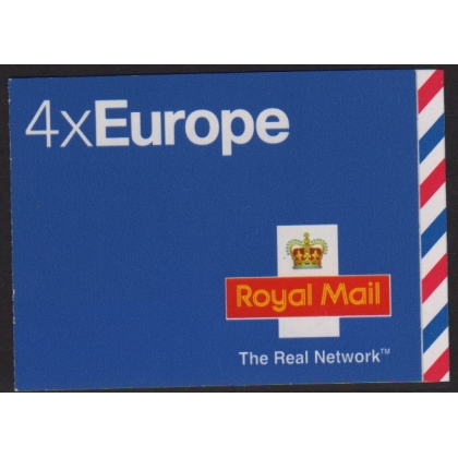 MI1 Europe 40g booklet - the Real Network logo