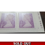 3745a 1st purple ex booklet of 6 REIGS..