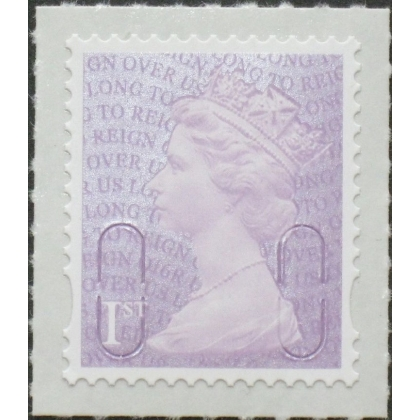 3744.6 1st purple Long To Reign Over Us counter sheet O16R 2016 printing