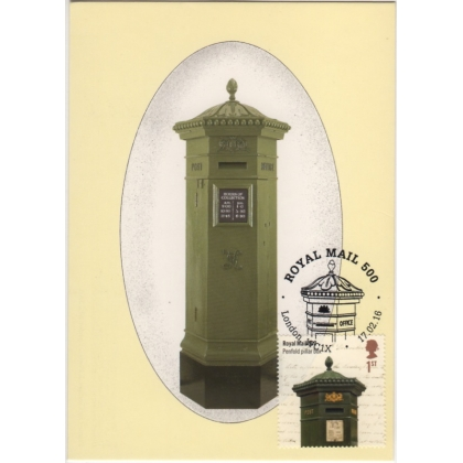 3797mx2 Penfold Postbox Maximum Card - Green