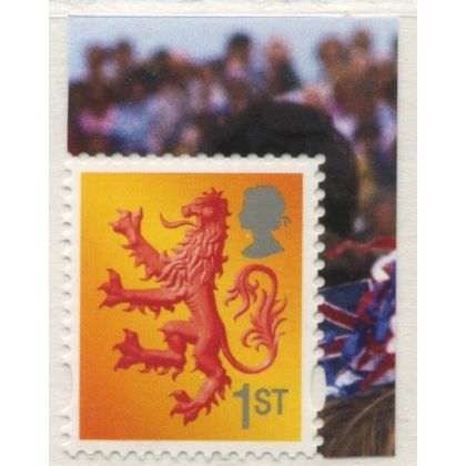S133-cb Scotland 1st class litho from Queen's Birthday PSB