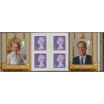 PM51 Queen's 90th Birthday self-adhesive retail booklet 2 2016
