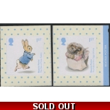 3867-8 Pair of Beatrix Potter self-adh..