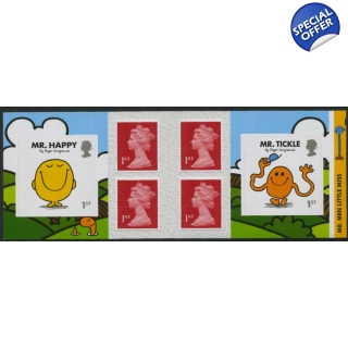 PM54 Mr Men 6 x 1st retail book with 1..