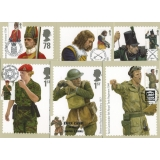 2774 British Army Uniforms set of 6 PH..
