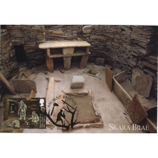 3913x1 Skara Brae World Heritage Site ..