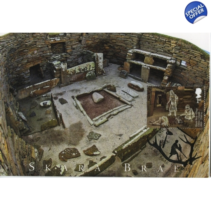 3913x3 Skara Brae World Heritage Site Maximum Card 3