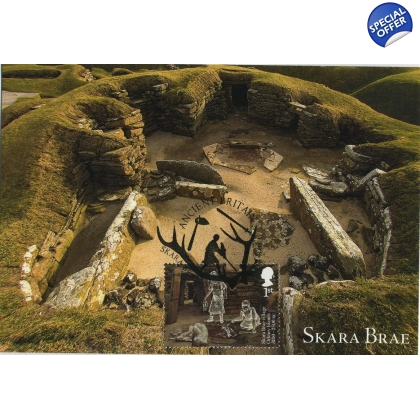 3913x5 Skara Brae World Heritage Site Maximum Card 5