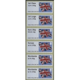 FS09m Union Flag Faststamps M/c M011 M..