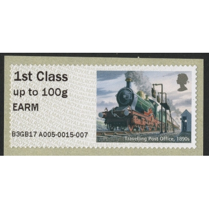 FV23a East Anglian Railway Museum Locomotive Post & Go Faststamps A005