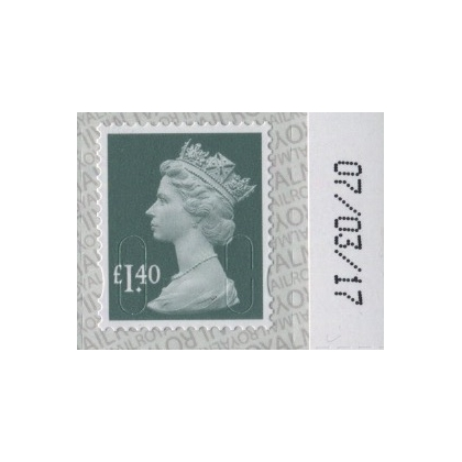 3140 £1.40 Machin Definitive 2017 on SBP2