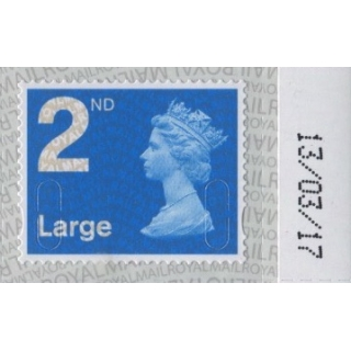 2913.7 2nd Large M17L MAIL counter she..