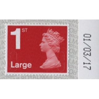 2916a.7 1st Large deep scarlet M17L co..
