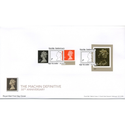 20170605 Machin Anniversary definitive stamps FDC