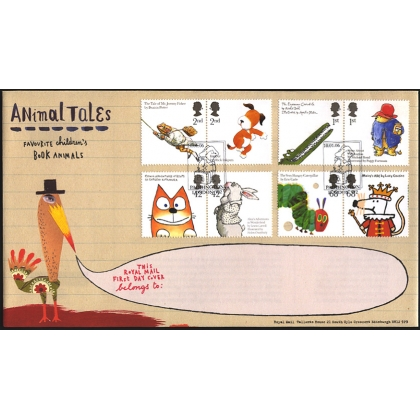 2589 Animal Tales set on Royal Mail fdc 2006
