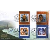 4015-8f Star Wars Booklet Stamps FDC 2..