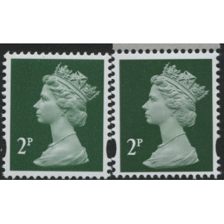 Y1668-17 2p green new p..