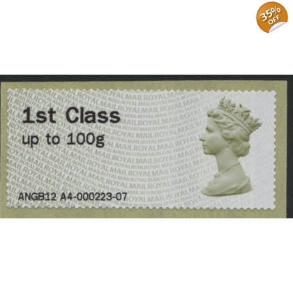 FS01p Hytech NG 1st class Camden PostShop Faststamp