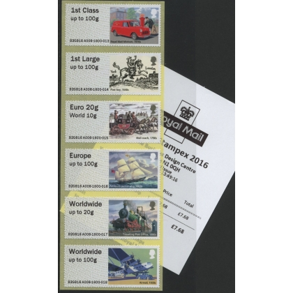FS23 Postal Heritage Transport Post and Go Faststamps Collectors Set