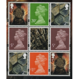4117p Set of 3 Machin definitives M17L..