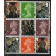 4117p Set of 3 Machin definitives ..
