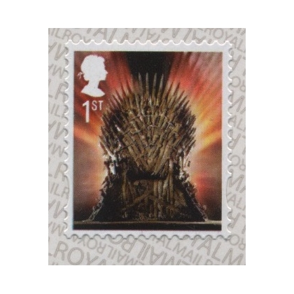 4044 Game of Thrones  Iron Throne 1st class self-adhesive from retail booklet