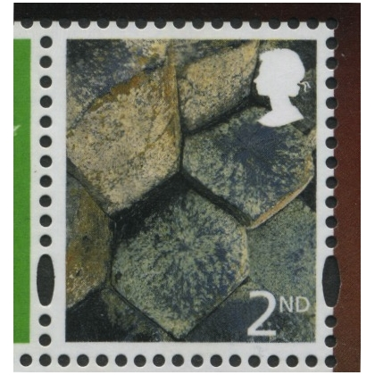 NI 94c 2nd class Northern Ireland litho by Cartor from PSB