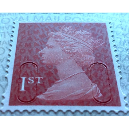 2914a.6 1st deep scarlet M16L MAIL late printing SBP2