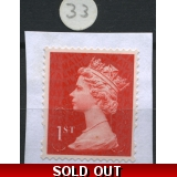 1st class red Machin forgery H, very c..