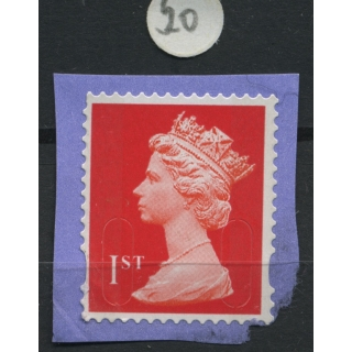 1st class red Machin forgery M - M13L ..