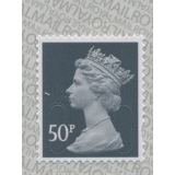 3051.7 50p slate-grey MAIL M17L reprint