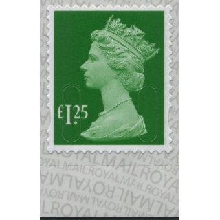 3125.8 £1.25 green M18L Walsall 2018 p..