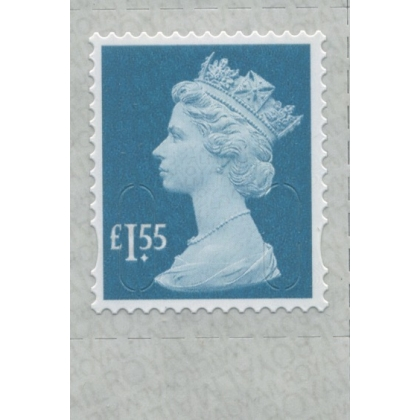 3155.8 £1.55 greenish blue M18L Walsall 2018 print