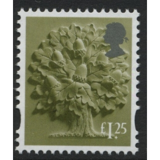 EN55 £1.25 England definitive CB+DB av..